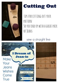 jeans sew along cutting out sew a straight line
