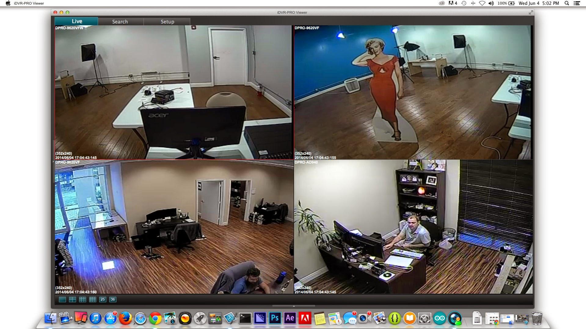 Timeline software Mac ip Camera