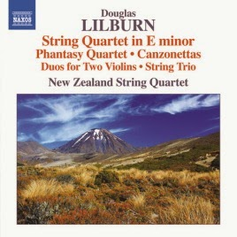 CD REVIEW: Douglas Lilburn - COMPLETE CHAMBER MUSIC FOR STRINGS (NAXOS 8.573079)