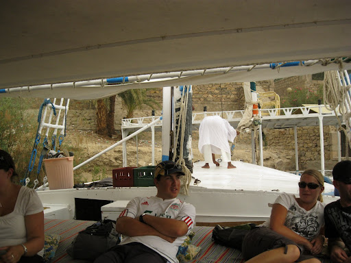 On the felucca