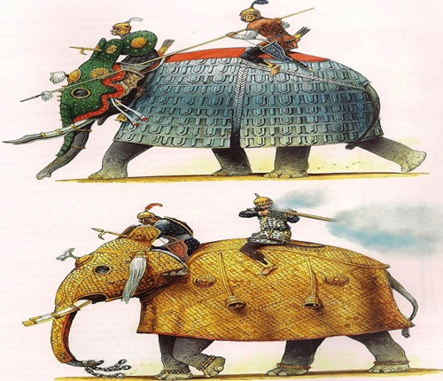 MOGUL WAR ELEPHANTS FROM OSPREY