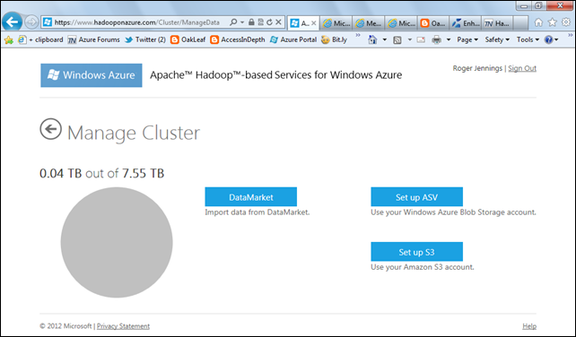 Introducing Apache Hadoop Services for Windows Azure - DZone
