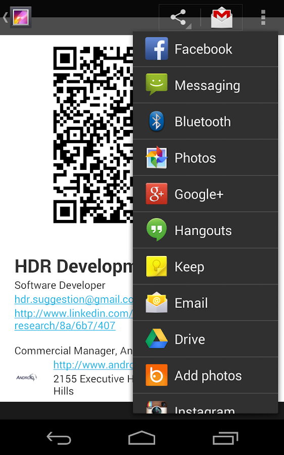 Free Business Card - Android Apps on Google Play