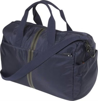 Fossil Industry Gym Bag 0 Closure Zipper Front Double Zip Pockets Side Slip Back Pocket Interior