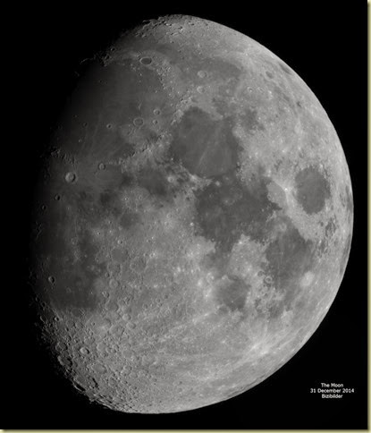 31 December 2014 The Moon