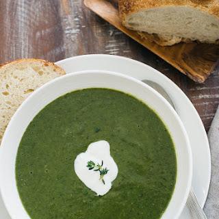 Creamy Spinach Lentil Soup
