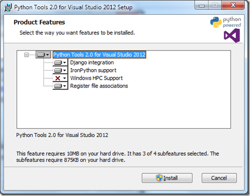 PythonForVisualStudioInstallation2