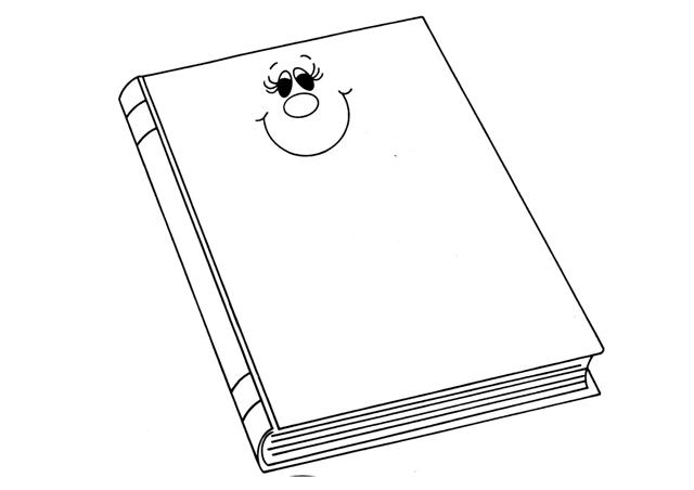Dibujos Para Colorear De Libro Y Libreta: COLOREAR DIBUJOS DE LIBROS
