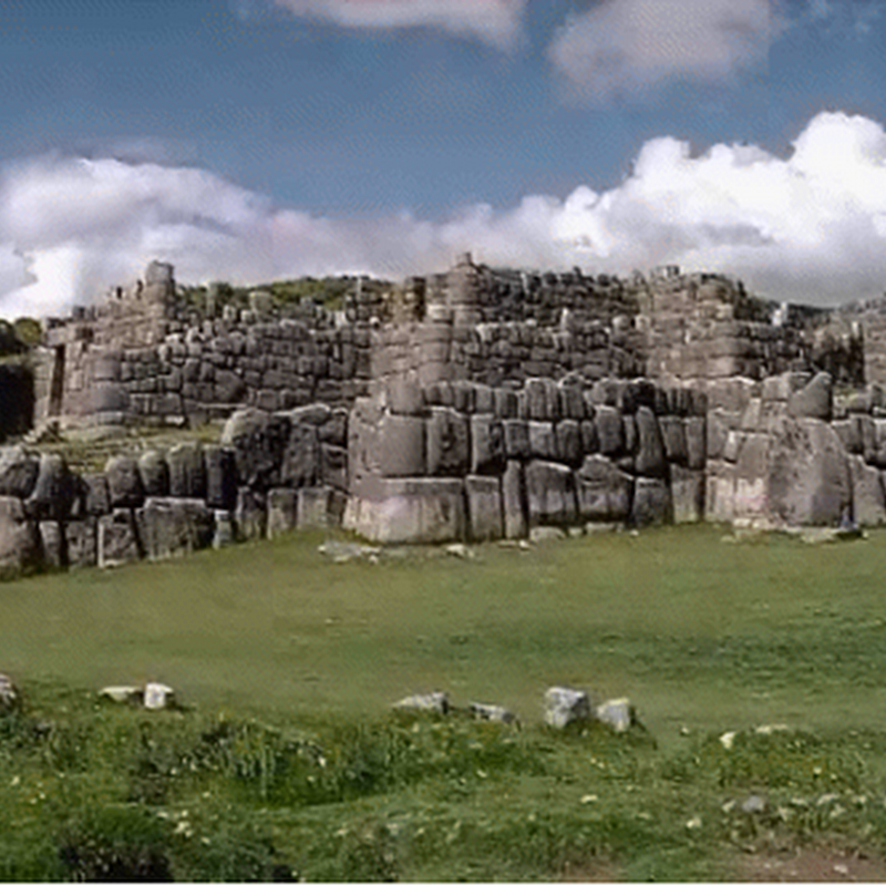 The fortress of Sacsayhuaman Inca testimony of the power and place of worship of the sun god.