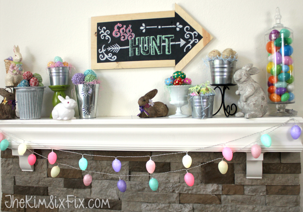 Easter Egg Mantle