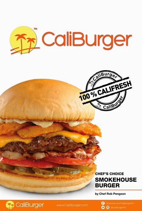 CaliBurger SmokeHouse Burger Product Shot