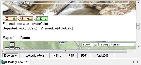 StyleVision AutoCalc elements