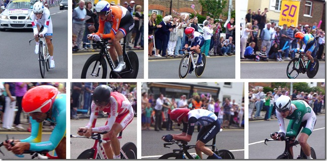 Olympic Time Trials in Cobham