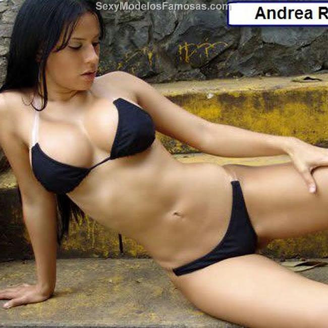 Andrea Rincon Bikini Negro CaliEsCali Foto 1