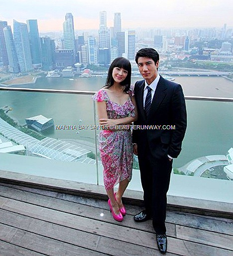 Zhang Ziyi Wang Lee Hom My Lucky Star Chinese-US romantic comedy Hollywood blockbuster movie Marina Bay Sands SkyPark Observation Deck, the hotel lobby Porte Cocheres Tower 1 Tower 3  director Dennie Gordon.Chicago Hope
