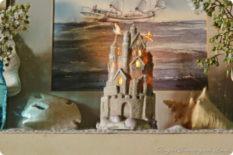 Beach Themed Mantel 7