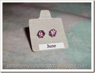 june birth stone earrings