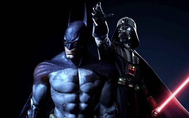 Darth Vader vs Batman en una épica batalla