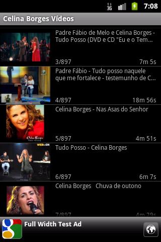 Celina Borges - Vídeos