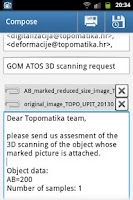 Screenshot of Topo Quote 3D scanning