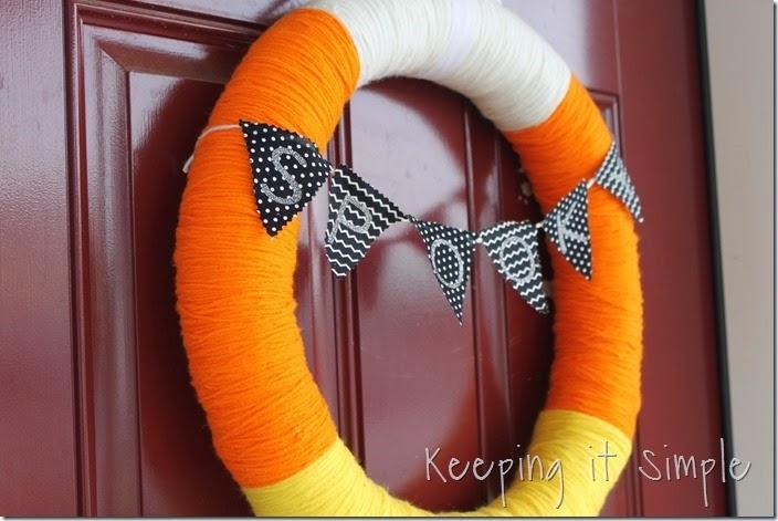 Halloween Wreath- Candy Corn Wreath (10)