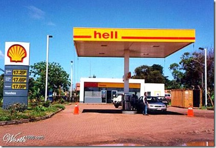 Shell Oil to Hell Oil