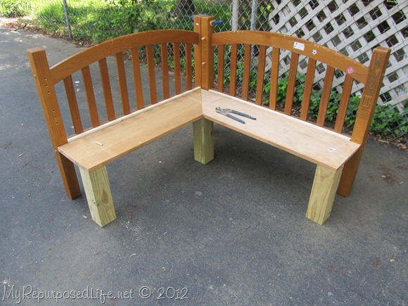 diy kids bench