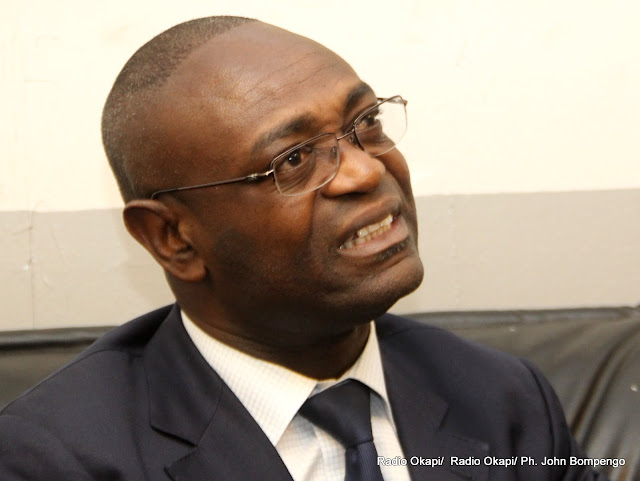Vincent Kabwa Kanyampa, Directeur général adjoint de la Direction générale des impôts. Radio Okapi/ Ph. John Bompengo