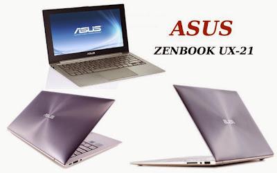 spesifikasi asus zenbook ux-21