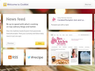 Cooklet for tablets Screenshot 3