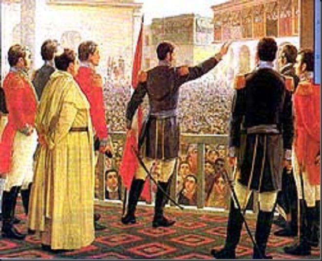 Independencia del Perú San Martín