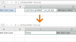 Trích xuất văn bản trước/sau dấu cách hoặc chuỗi ký tự trong Excel?