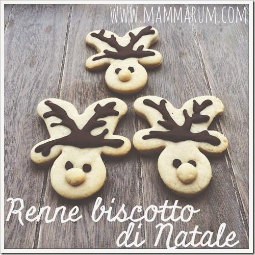 Biscotti renna di Natale