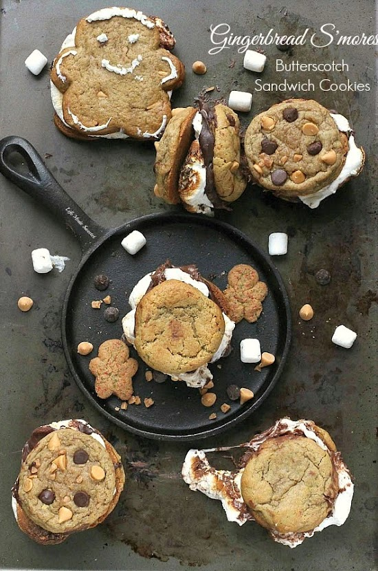 Gingerbread Butterscotch S'mores Sandwich Cookies -- by @LifeMadeSweeter #ChipitsHoliday.jpg