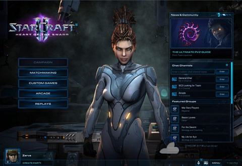 StarCraft II Heart of theSwarm