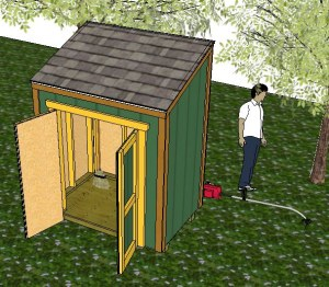 Free Wood Free Gambrel Shed Plans 8x10 87003 Exuroellziern