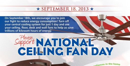 national ceiling fan day
