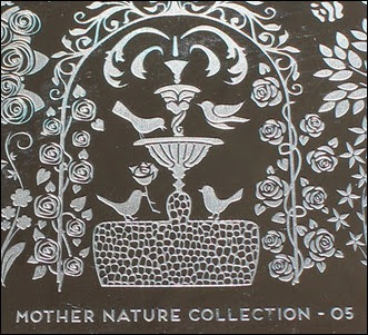 MoYou Stamping Plate Mother Nature Lovebirds