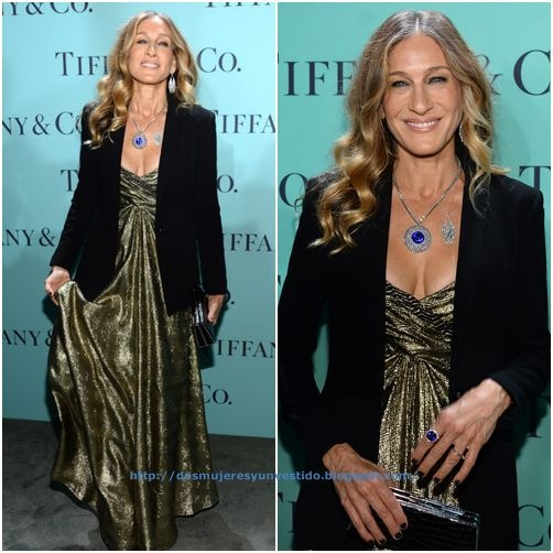Sarah-Jessica-Parker-Tiffany Co Celebrates Blue Book Ball (3)