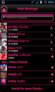Pink Socialize 4 FB Messenger- screenshot thumbnail