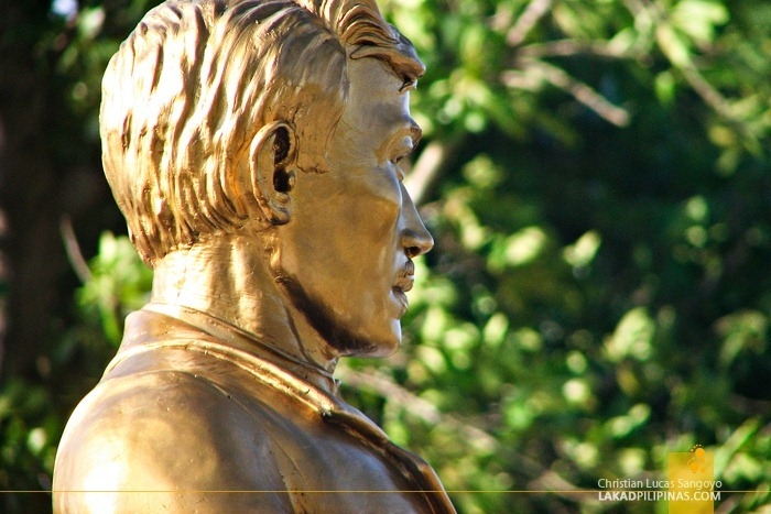 Detail of Dr. Jose Rizal's Face
