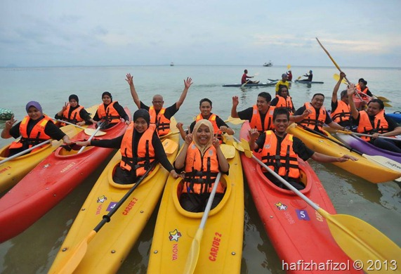 aktiviti kayak