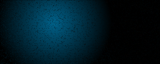 Abstract Blue Pixels