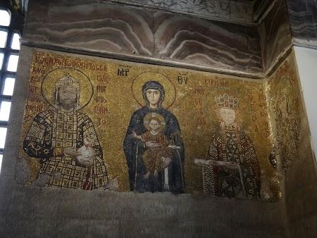 Obiective turistice Istanbul: Picturi Catedrala Sf. Sofia