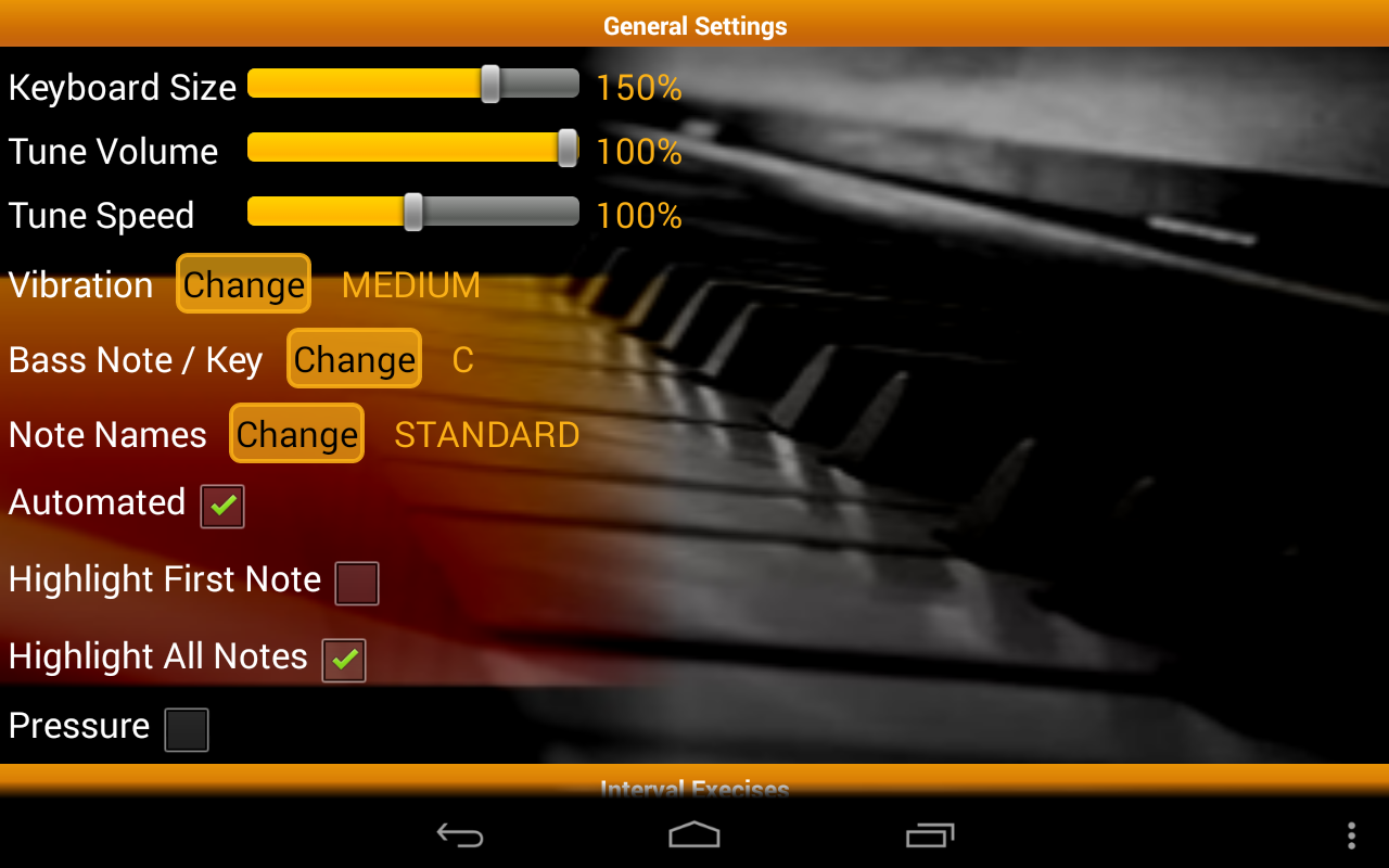 Piano Ear Training Free - screenshot