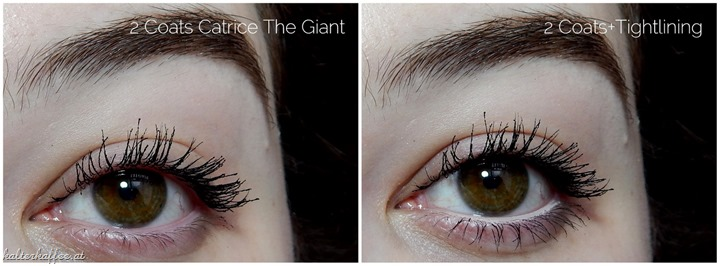 Catrice The Giant Extreme Volume Mascara Waterproof applied