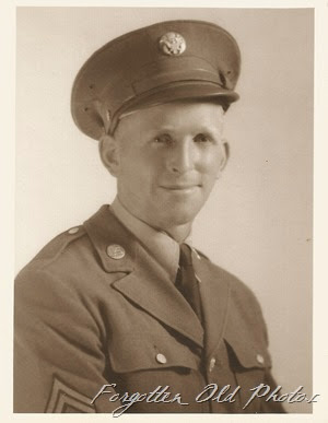 Army Soldier Moorhead Antiques Photo developed in El Paso TX