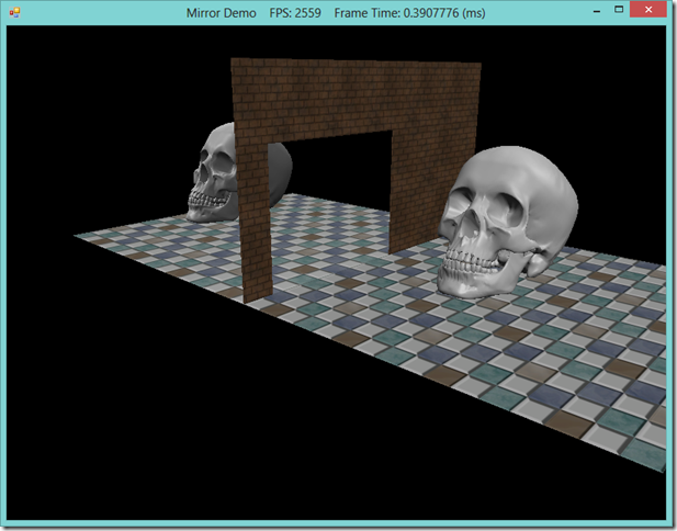 RichardsSoftware net - Planar Reflections and Shadows using