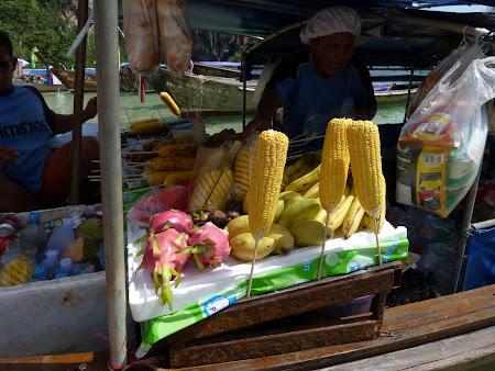 Mancare thailandeza: porumb fiert