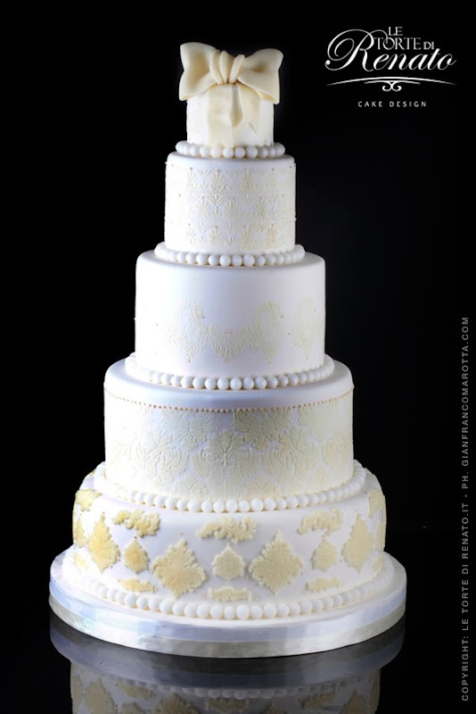 Wedding cake decorata